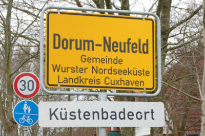 Küstenbadeort Dorum-Neufeld