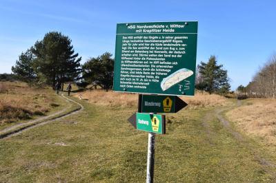 Winterlicher Ostseestrand beim Feriendorf Rugana